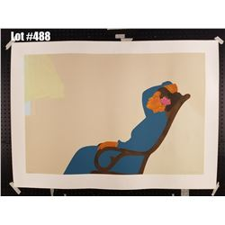 """""""Hana Morning"""" by Pegge Hopper, Serigraph, 289 of 300, Retail $1500, Ltd. Ed, Signed & Numbered, 50"""""""