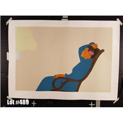 """""""Hana Morning"""" by Pegge Hopper, Serigraph, 288 of 300, Retail $1500, Ltd. Ed, Signed & Numbered, 50"""""""