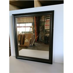 Dark Framed Mirror 26 x 32