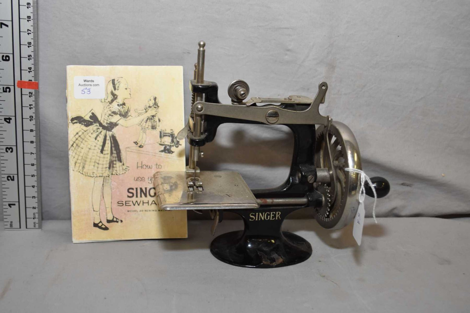 Printed singer 338 sewing machine manual (smm037).