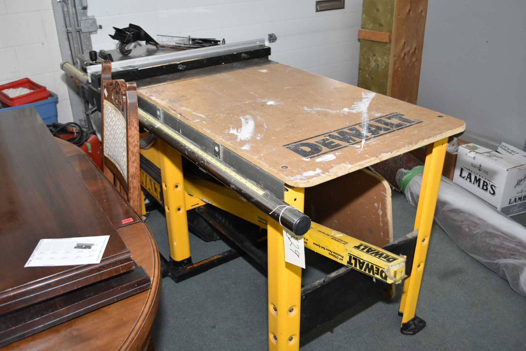 Dewalt Dw 746 10 Quot Professional Table Saw With Table