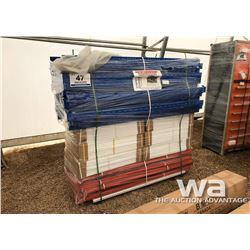 HEAVY DUTY WAREHOUSE STEEL SHELVING RACKS