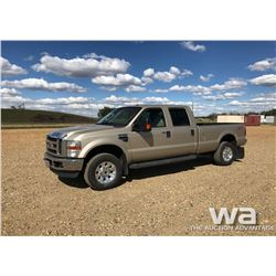 2008 FORD F350 CREWCAB SUPER DUTY PICKUP