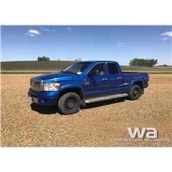 2008 DODGE RAM 2500 QUAD CAB PICKUP