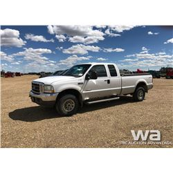 2004 FORD F250 E-CAB PICKUP