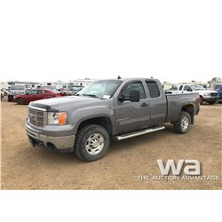 2009 GMC 2500HD E-CAB PICKUP
