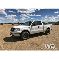 2006 FORD F150 E-CAB PICKUP