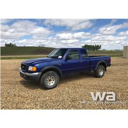 2004 FORD RANGER PICKUP