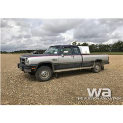 1992 DODGE RAM 250 PICK UP