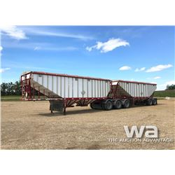 2002 LODEKING SUPER B GRAIN TRAILERS
