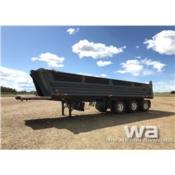 1999 LOADLINE TRIDEM END DUMP TRAILER