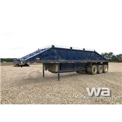 1992 DECAP TRIDEM CLAM DUMP GRAVEL TRAILER