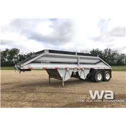 1998 MIDLAND T/A CROSS DUMP GRAVEL TRAILER