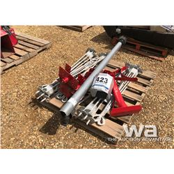 ANCHORS, PTO SHAFT, AUGER PARTS