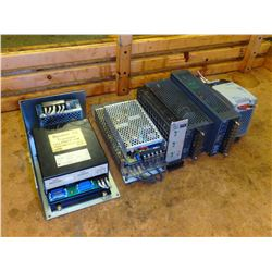 Lot of Power Supplies - MFG 's include Yaskawa, Lambada, Mean Well and  Allen Bradley