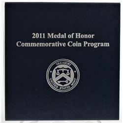 U.S. 2011-P Medal of Honor Commemorative Proof Silver Dollar