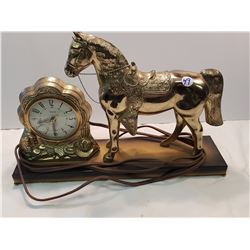 Canadian Horse Clock- United Co