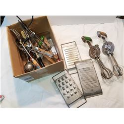 Ad Kitchen Hand Tool Lot