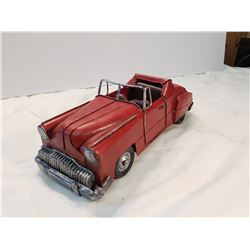 Red Tin Convertible Car