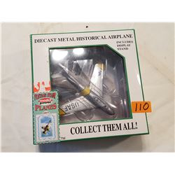 Die Cast Metal Historic Airplane Collectible