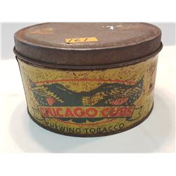 Chicago Cubs Chewing Tobacco Tin