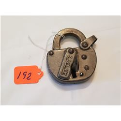 CPR Padlock With Key