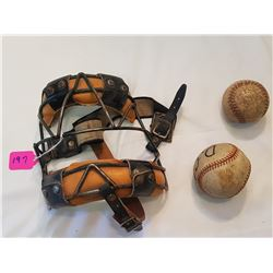 Cooper Antique Facemask and Z Balls