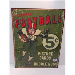 """Repo Sign- Topps Football-16""""x12"""""""