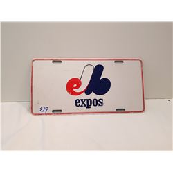 Montreal Expo License Plate