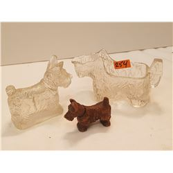 Scottie Dogs Candy Dish