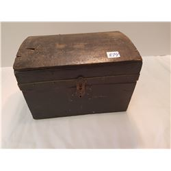 Antique Document Box-- Very old
