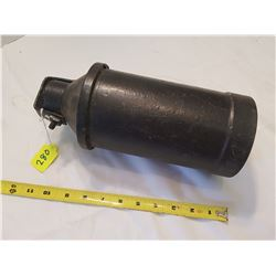 Unusual Cast Iron Bell Possibly out of a small boat nice sound -large