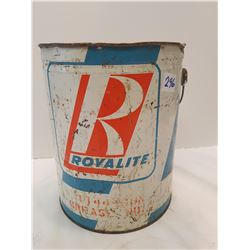 Royalite Grease Can -Unusual Rare