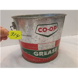 Co Op Grease Can -10lbs