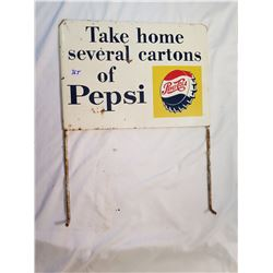 Original Pepsi Top For Bottle Rack Two Sided