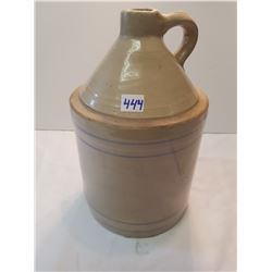 Antique Unusual Whiskey Jug -1gallon