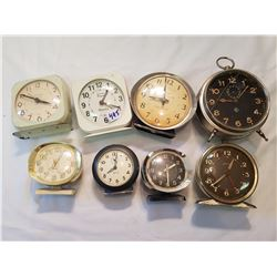 Vintage Clock Lot All wind up