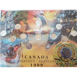 1999 Canada 25 cent Coin set