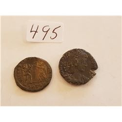 Ancient Roman Coins Smaller Size