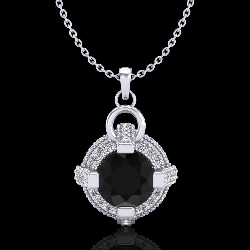 finejewelry stud app engagement preview diamond necklace white necklaces gold
