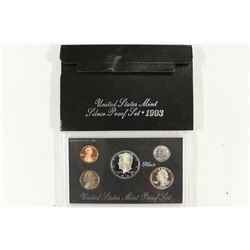 1993 US SILVER PROOF SET (WITH BOX)