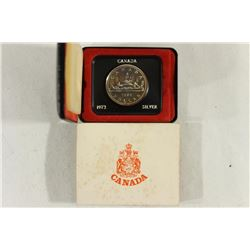 1972 CANADA SILVER DOLLAR PROOF .3750 OZ. ASW
