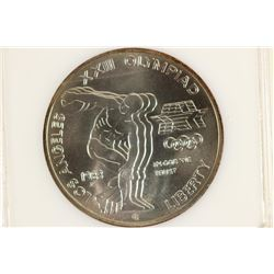 1983-P OLYMPIC COMMEMORATIVE SILVER DOLLAR UNC