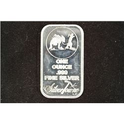 1 TROY OZ .999 FINE SILVER PROOF BAR SILVERTOWNE