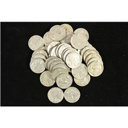 40 ASSORTED 1930'S BUFFALO NICKELS