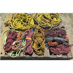 Large Amount of Various Extension Cords