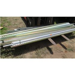 Various Square/Angle Iron and Metal Pipes/Conduit