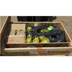 Large Container of Industrial String Utility Lights