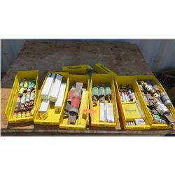Lot of Fuses - Various Types & Sizes