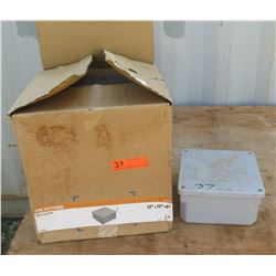 "PVC Fittings Molded Junction Box 12""x12""x6"""